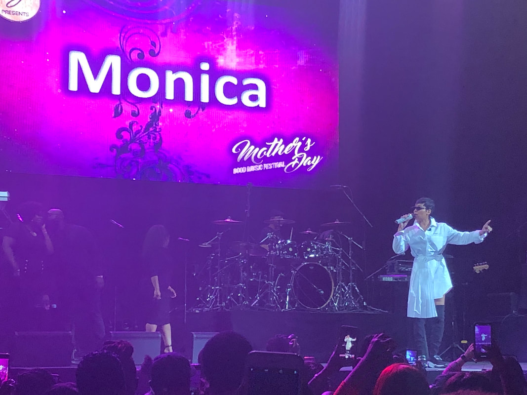 Monica performs at Mother's Day Good Music Festival at Barclays Center on May 10, 2019.