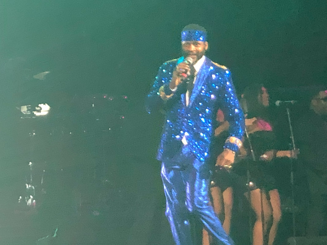 Jaheim performs at Mother's Day Good Music Festival at Barclays Center on May 10, 2019.