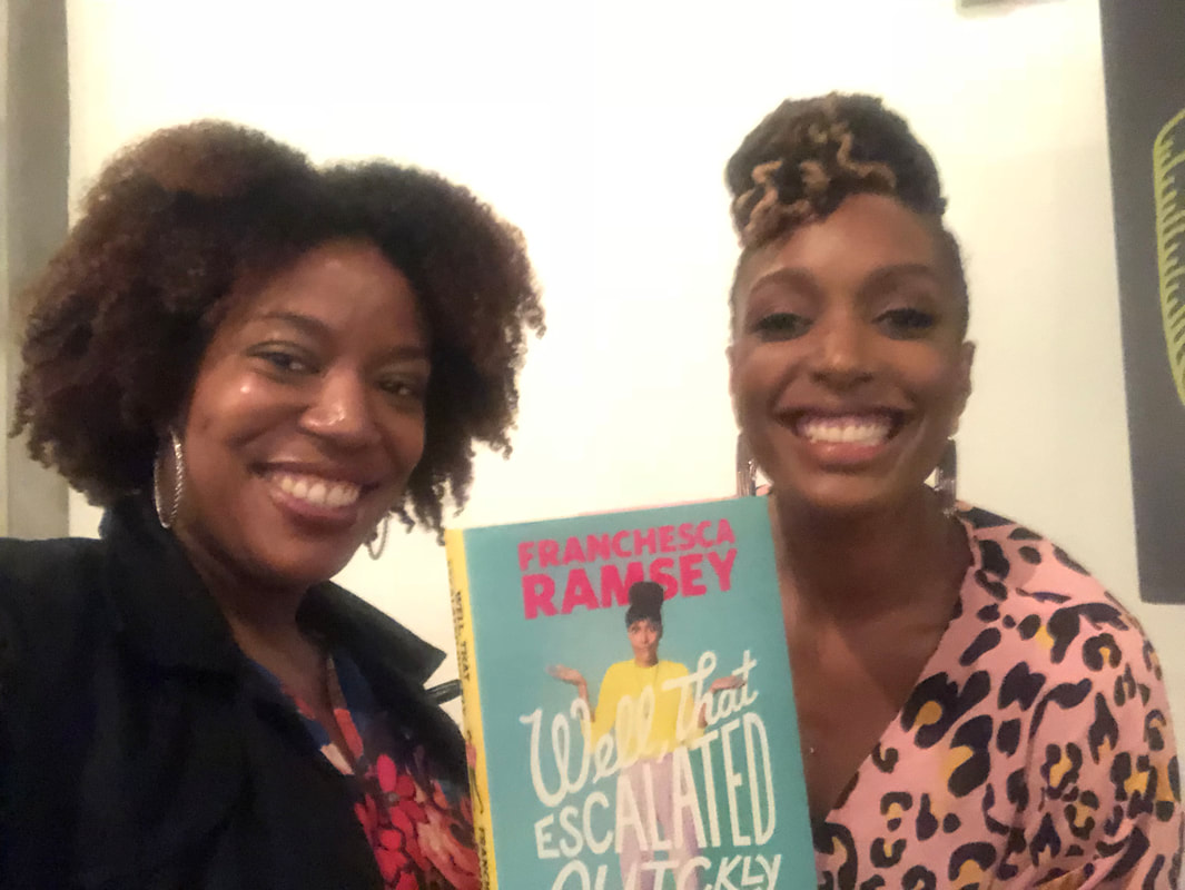 Me and Franchesca Ramsey